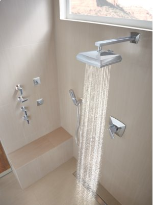"""13"""" Shower Arm and Flange"""