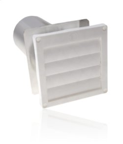 Flush Mounted Louvered Dryer Vent