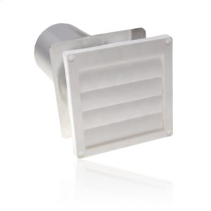 AmanaFlush Mounted Louvered Dryer Vent