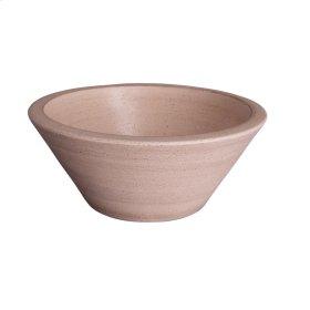 "Fango Conical 14"" Ceramic Basin - Galon Black"