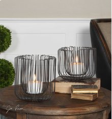 Flare Candleholders, S/2