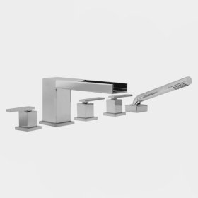 3300 Series Roman Tub Set with Jaxx Handle (available as trim only P/N: 1.333393T)