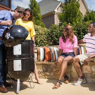 Apollo(R) 300 Charcoal Grill and Water Smoker
