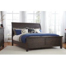 Trudell - Dark Brown 3 Piece Bed Set (Queen)
