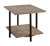 Emerald Home Turner End Table-wood & Metal Driftwood T655-01