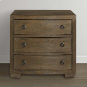Compass Western Brown Compass II Nightstand