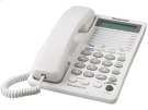 2-Line Integrated Telephone System with 16-Digit LCD and Clock Product Image