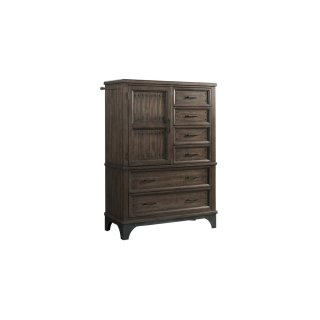 Whiskey River 6 Drawer Gentleman's Chest