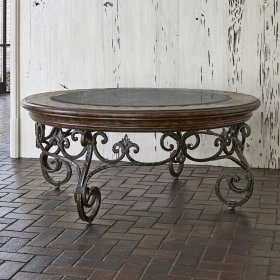Montego Round Cocktail Table