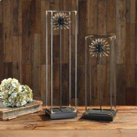 Flowering Dandelions, Sculpture, S/2