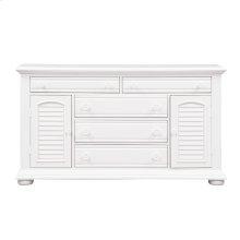 2 Door 5 Drawer Dresser