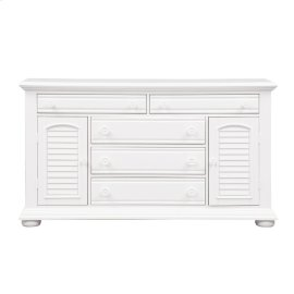 2 Door 5 Drawer Dresser