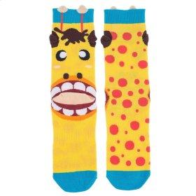 Giraffe Heel Socks - Women's Size 9-11