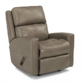 Catalina Leather Swivel Gliding Recliner