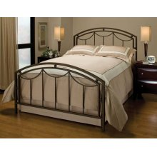 Arlington Bed Set In Bronze Metal (bed Frame Not Included) - Full
