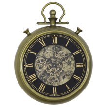 Simple Pocket Watch Gear Clock