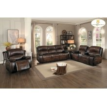 Double Reclining Love Seat with Center Console
