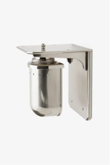 R.W. Atlas Wall Mounted Single Arm Sconce with Metal Shade STYLE: RWLT04
