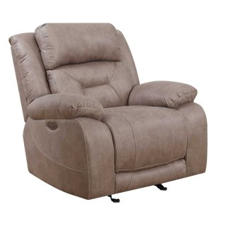 Harper Power Headrest Recliner, Sand