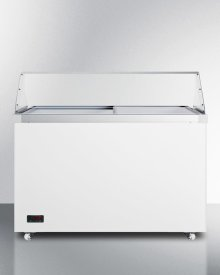 "50"" Wide Dipping Cabinet With Polycarbonate Sneezeguard"