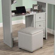 Lani Vanity Stool - Linen Gray Product Image