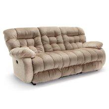 PLUSHER COLL. Space Saver Reclining Sofa
