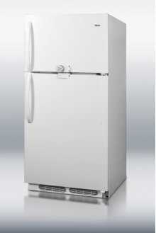16.5 cu.ft. refrigerator-freezer with dual combination lock and frost-free operation