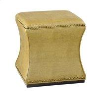 Hidden Treasures Green Storage Cube Product Image