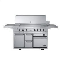"""Stainless Steel Outdoor Range™ Grill Cart - BQCO (53"""" wide grill cart with oven (Natural Gas))"""