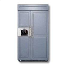 """42"""" Custom Panel Side-by-Side with External Ice Dispenser"""