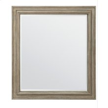European Cottage Landscape Mirror - Khaki