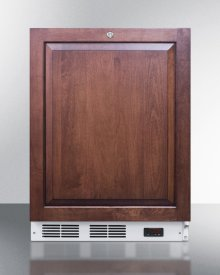 ADA Compliant Built-in Medical All-freezer With Lock, Capable of -25 C Operation; Door Accepts Fully Overlay Panels
