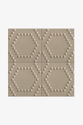 "Architectonics Handmade Boss Decorative Field Tile Hexad Grande 6"" x 6"" STYLE: ARDFH2"