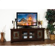"Dark Hazelnut 75"" TV Console Product Image"