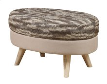 Oval Cocktail Ottoman