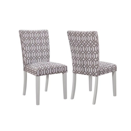 Dorsett Casual White Dining Chair
