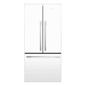 French Door Refrigerator 17 cu ft - WHITE, FRENCH HINGE
