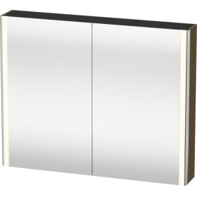 Mirror Cabinet, Olive Brown High Gloss Lacquer