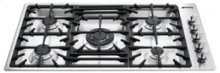 "90CM (approx. 35"") ""Classic"" Gas Cooktop Stainless Steel"