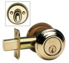 Traditional Auxiliary Deadbolt Kit - Solid Brass in MB (MaxBrass® PVD Plated) Product Image