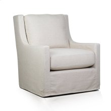 Myles Slipcover Swivel Glider - Windfield Natural New!