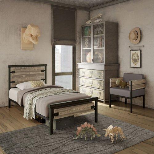 Factory Regular Footboard Bed (larch) - Kid