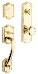 Lifetime Polished Brass Bristol Handleset Product Image