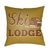 "Lodge Cabin LGCB-2040 18"" x 18"""
