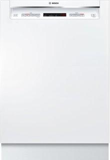 "300 Series 24"" Recessed Handle Dishwasher SHE863WF2N White"