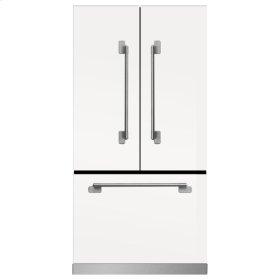 White Elise French Door Counter Depth Refrigerator