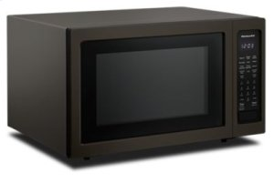 """21 3/4"""" Countertop Convection Microwave Oven with PrintShield™ Finish ™ 1000 Watt - Black Stainless"""