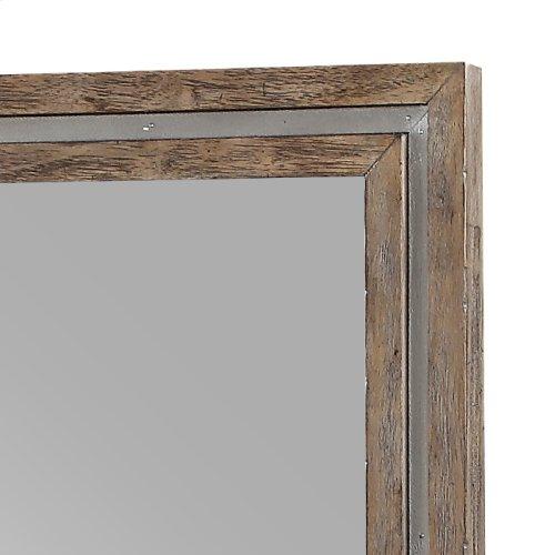 Emerald Home Vista Twin Mirrors Weathered Oak B242-24