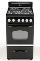 "Model ER2003CB - 20"" Electric Range - Black Product Image"