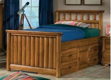 Captain's Bed With Underbed Storage